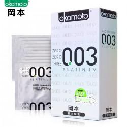【避孕套】冈本 003白金超薄(限价)