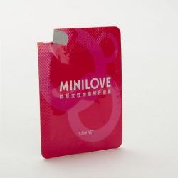 【情趣用品】minilove微爱 女用调情助情凝露液单片1.5ML(零售3元)