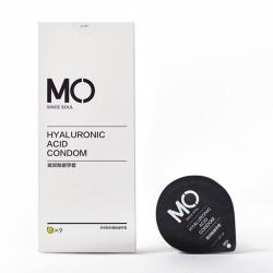 【避孕套】名流 MO玻尿酸水溶性润滑超薄 限价39元