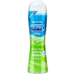 【情趣用品】杜蕾斯润滑液水润芦荟50ml「零售价49」