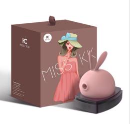 【女用器具】kis  toy  萌兔吸吮按摩器外部刺激(限价239)月销500+以上,适合主流平台销售以及推广。