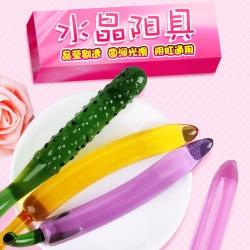 【女用器具】谜姬 蔬果系列水晶阳具 不限价