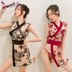 【情趣内衣】霏慕玉蝶恋花日系和服套装6939【限价销售68】