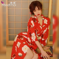 【情趣内衣】霏慕日系少女长款羽织和服7059(天猫可上架)更新图片包